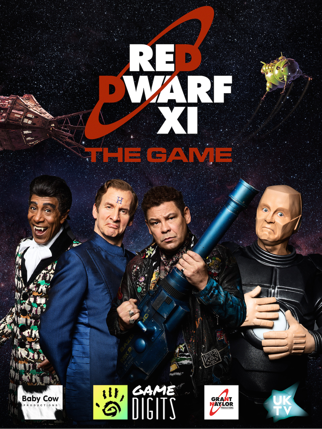 UKTV Launches Red Dwarf XI : The Game on mobile Image